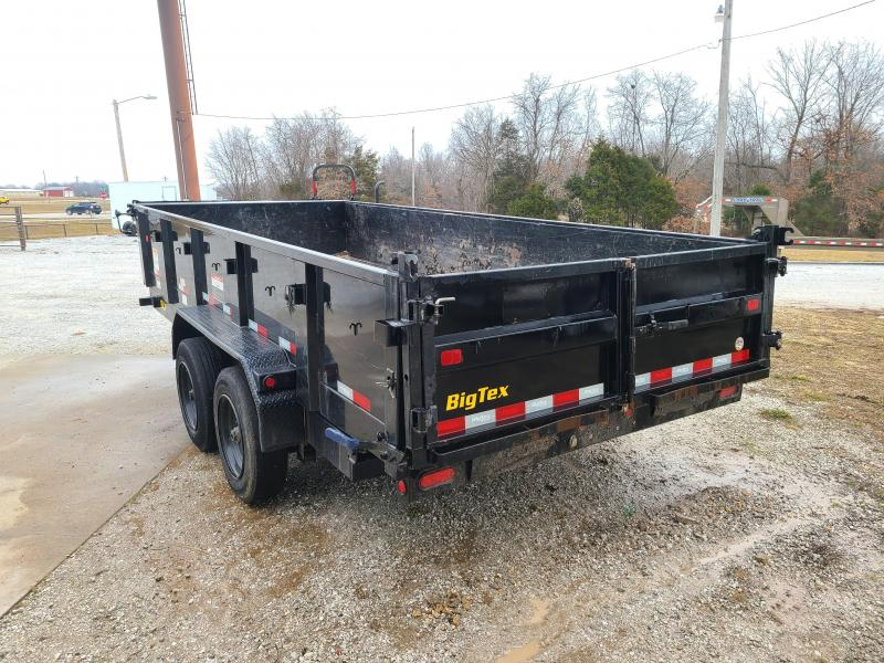 2019  BIG TEX 16LX 83 X 16 TANDEM DUMP W/ 8KS AXLES
