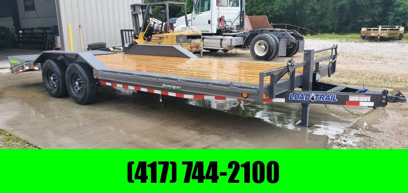 2021 Load Trail 102X22 TANDEM 14K CAR HAULER W/MAX RAMPS