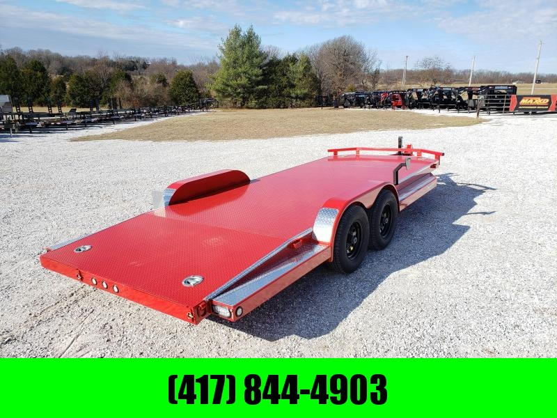 2020 MAXXD 83X20 FLAME RED TANDEM 10K N5X CAR HAULER