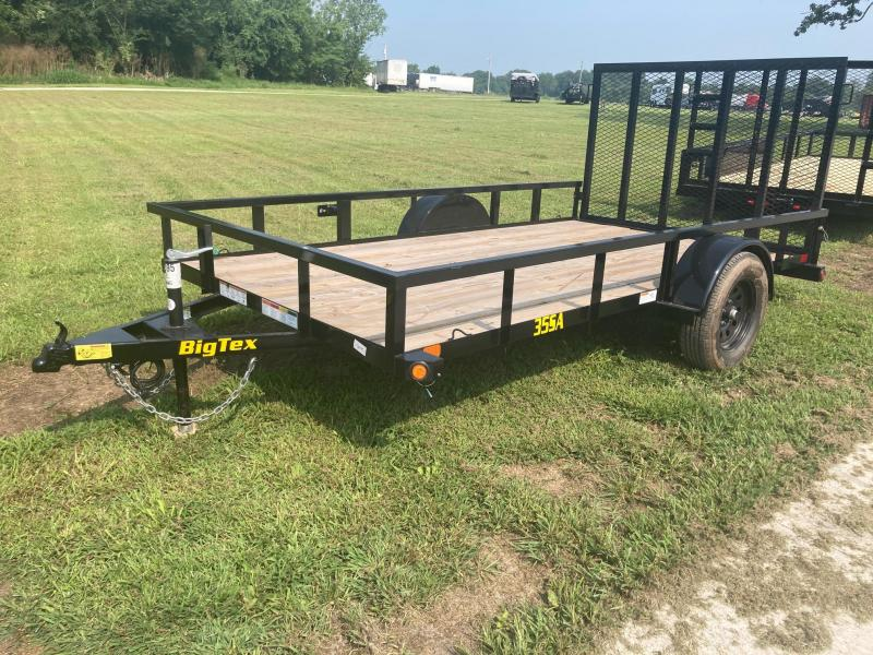 2022 Big Tex 77x10 Single Axle Utility Trailer