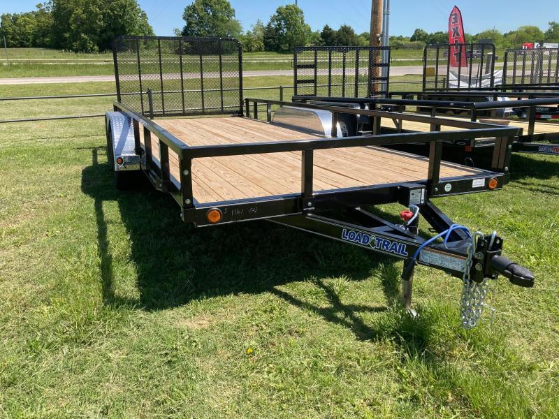 "2021 Load Trail 83"" x 16' Tandem Axle Utility (4"" Channel Frame) Utility Trailer"