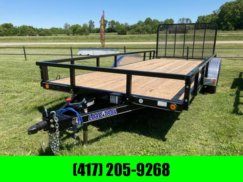 "2021 Load Trail 83"" x 18' Tandem Axle Utility (4"" Channel Frame) Utility Trailer"