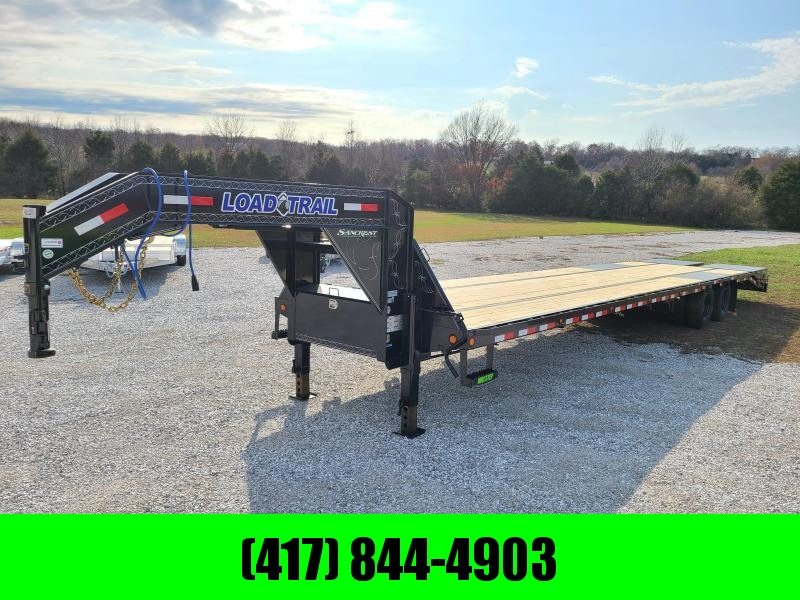 "2021 Load Trail 102"" x 40' Tandem Low-Pro Gooseneck w/Under Frame Bridge & Pipe Bridge ( HOT SHOT READY)"