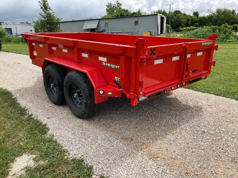 """2022 MAXXD 72X12 TANDEM 12K DUMP W/ 21"""" SIDES AND SLIDE IN RAMPS"""