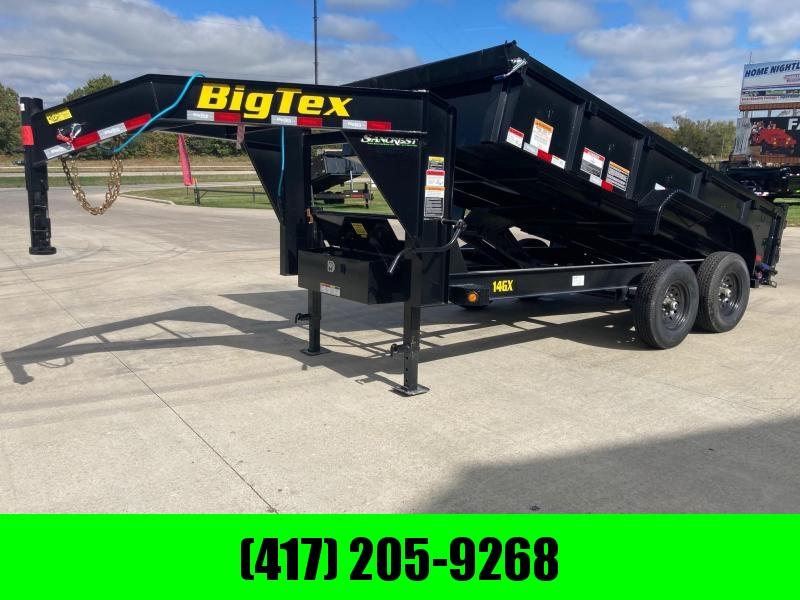 2022 Big Tex Trailers 83x14 Tandem 14K GN Dump Trailer