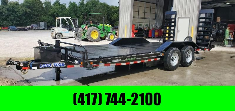 2020 Load Trail 102X20 TANDEM 14K EQUIPMENT HAULER W/STEEL DECK & HD STAND UP RAMPS