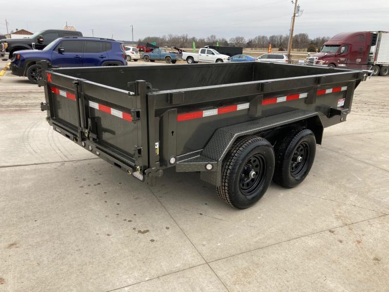 "2021 MAXXD 72x12 Tandem Dump Trailer W/ 21"" Sides"