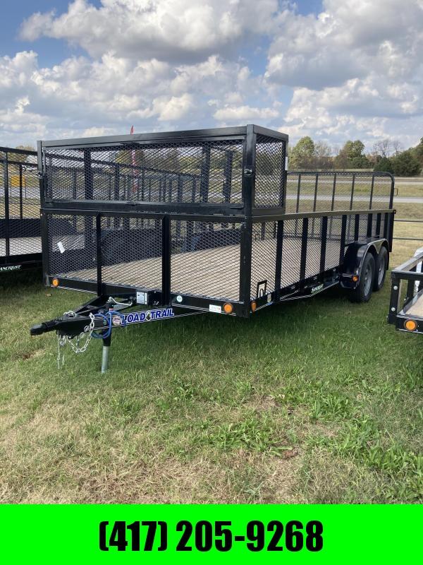 2021 Load Trail Tandem 83x18 Landscape Utility Trailer