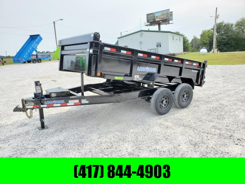 """2022 Load Trail 83X14 TANDEM 14K DUMP W/ 24"""" SIDES AND SLIDE IN RAMPS"""