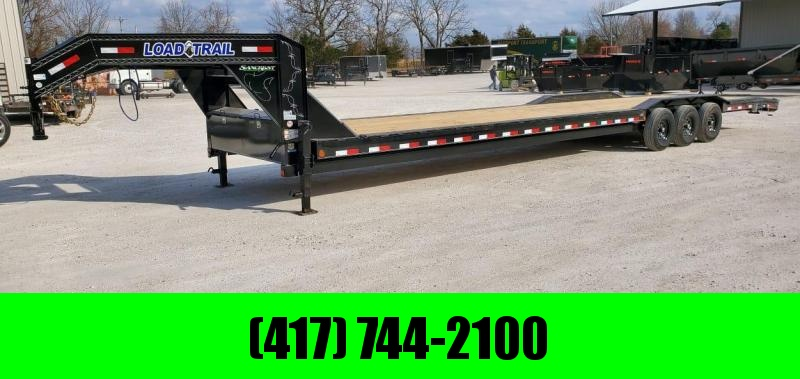 2021 Load Trail 102X40 TRIPLE 21K GN CAR HAULER W/3' DOVE & SLIDE OUT RAMPS
