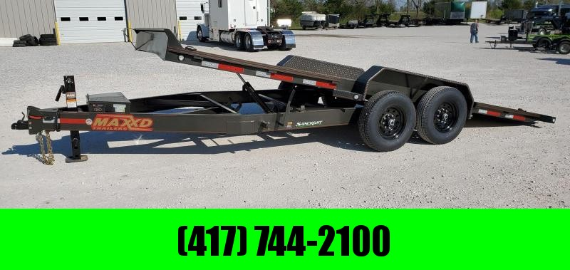 "2020 MAXXD 83X20 TANDEM 14K T6X POWER TILT CAR/EQUIPMENT HAULER W/ 8"" FRAME"