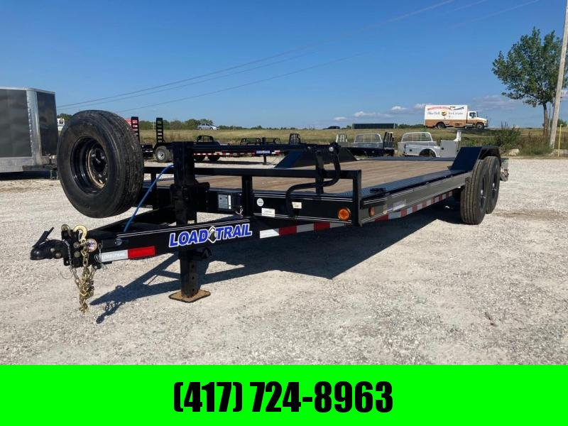2022 Load Trail 102 X22 Equipment Trailer with spare