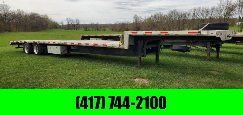 2016 Transcraft 102X53 STEPDECK W/ SLIDING REAR AXLE & TIRE INFLATION SYSTEM