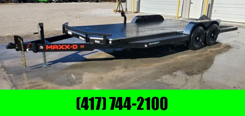 2021 MAXXD 83X20 TANDEM 10K N6X CAR HAULER W/ 4' SPLIT TAIL & TUBE RAMPS W/STOPPERS