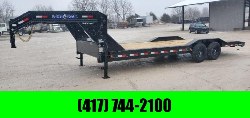2021 Load Trail 102X24 TANDEM 14K GN CAR HAULER W/SLIDE OUT EAMPS & DRINGS BETWEEN FENDERS