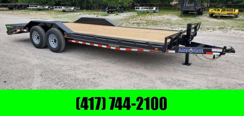 2021 Load Trail 102X22 TANDEM 14K EQUIPMENT HAULER W/MAX RAMPS