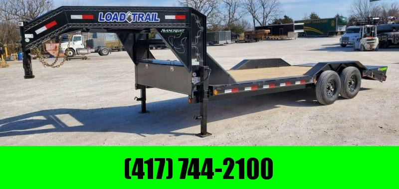2021 Load Trail 102X20 TANDEM 14K GN EQUIPMENT HAULER W/MAX RAMPS