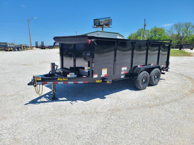 2021 Big Tex Trailers 83x16 TANDEM 7K DUMP W/ 4FT SIDES