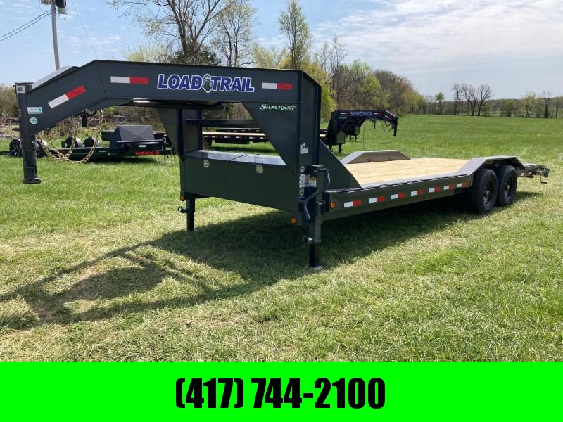 2021 Load Trail GOOSENECK TANDEM 7K AXLES W/ DRIVE OVER FENDERS & WINCH PLATE