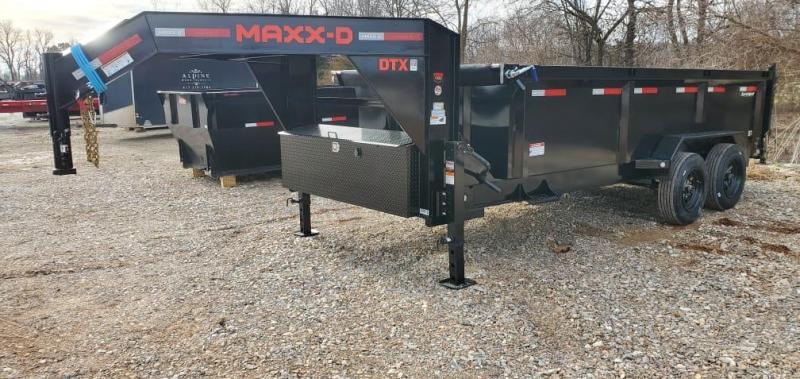 2021 MAXXD 83X16 TANDEM 16K TELESCOPIC DUMP W/ 8K AXLES & 24K HOIST