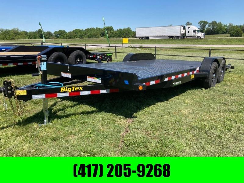 2021 Big Tex 10K 83X20 STEEL DECK CAR HAULER
