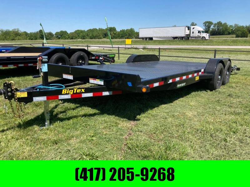 2021 Big Tex 10K 83X20 STEEL DECK CAR HAULER