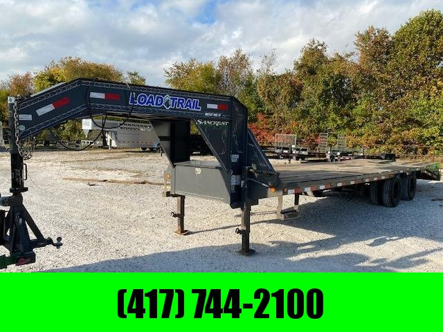 RENTAL SARCOXIE - 2019 LOAD TRAIL 102X28 GN W / MAX RAMPS