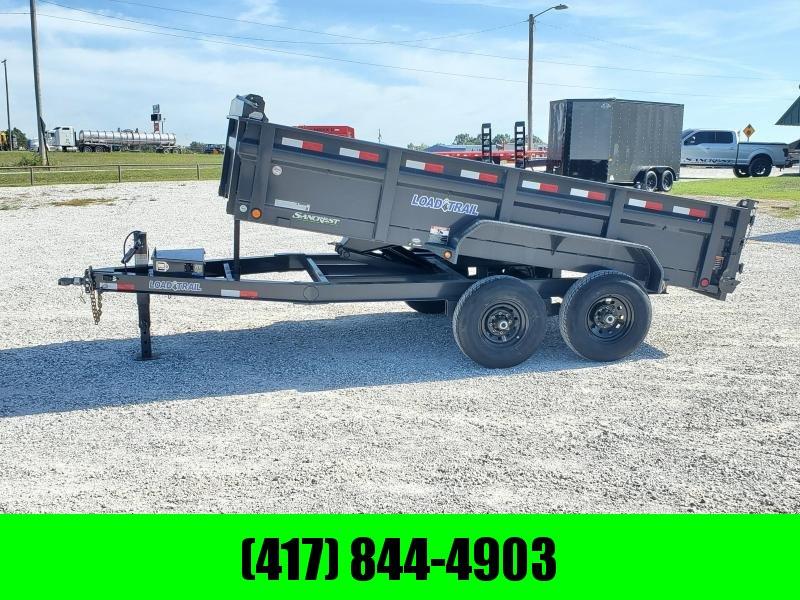 "2020 Load Trail 72"" x 14' Tandem Axle Dump ( USED ) GREAT SHAPE"