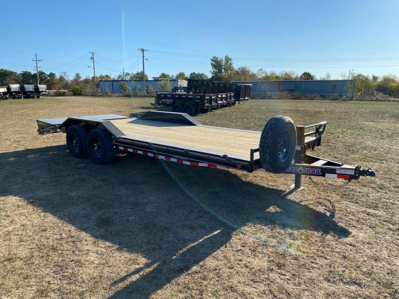 2021 Load Trail 102X22 TANDEM 14K CAR HAULER W/MAX RAMPS & SPARE