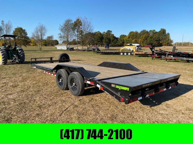2021 Load Trail 102X22 TANDEM 14K CAR HAULER W/MAX RAMPS & SPARE