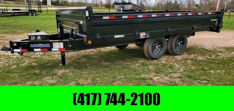 2021 Load Trail TANDUM 14K DECK OVER DUMP BED W/ 18IN FOLD DOWN SIDES