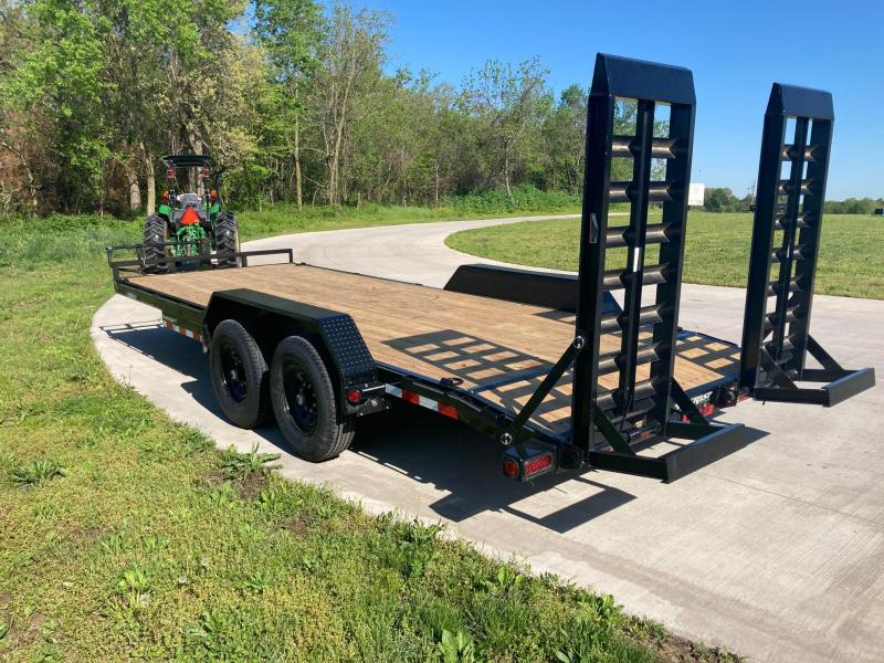 2021 Load Trail 83x20 Tandem 14K Equipment Trailer