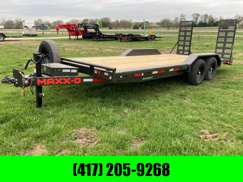 2021 MAXXD 102x20 Tandem Equipment Trailer