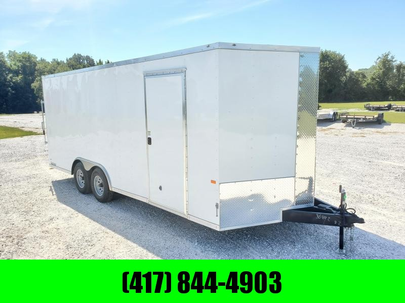 2022 Rock Solid 8.5 X 20 TANDEM 10K CARGO W/ TRANSISTION FLAP AND SIDE DOOR