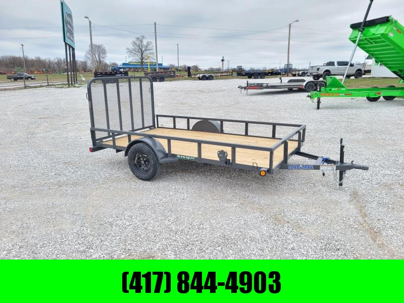 2021 Load Trail 77X12 SINGLE 3.5K UTILITY W/TUBE TOP RAILING & 4' TUBE GATE
