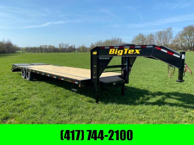 2021 Big Tex 102X30 TANDEM GN W/7K AXLES & MAX RAMPS