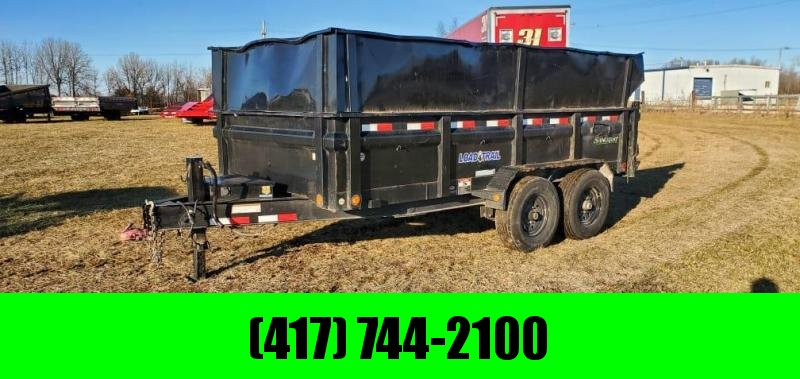 "2019 Load Trail 83X14 TANDEM 14K DUMP W/14 PLY TIRES 24"" SIDES & 2FT SIDE EXTENSIONS"