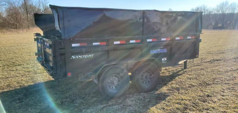 """2019 Load Trail 83X14 TANDEM 14K DUMP W/14 PLY TIRES 24"""" SIDES & 2FT SIDE EXTENSIONS"""