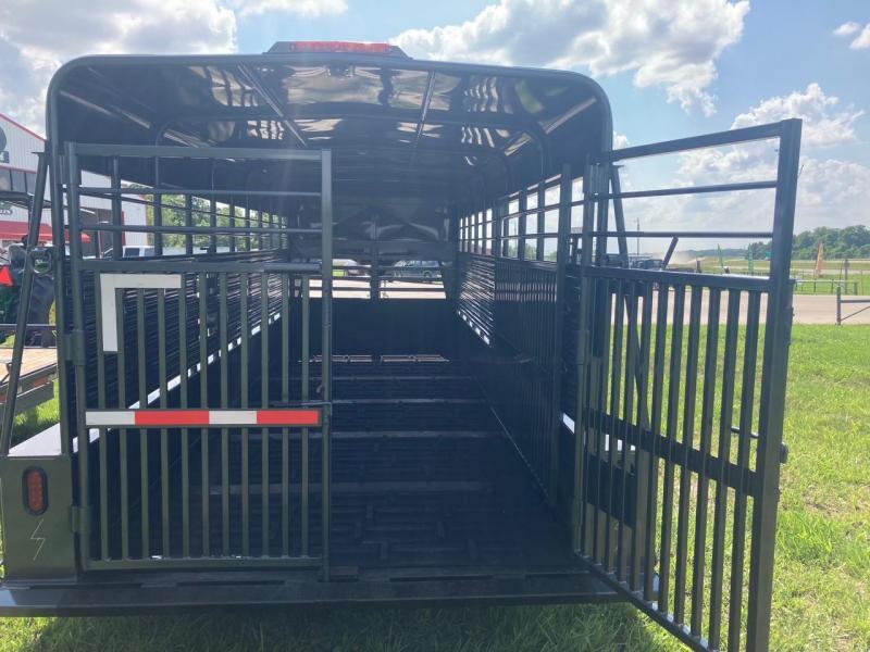 2021 Kodiak 6'8x20 Tandem Livestock Trailer