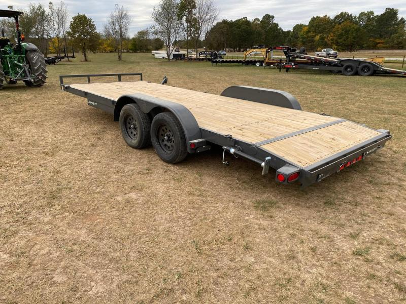 2021 Load Trail 83X20 TANDEM 7K CAR HAULER W/ SLIDE OUT RAMPS & STAB JACKS