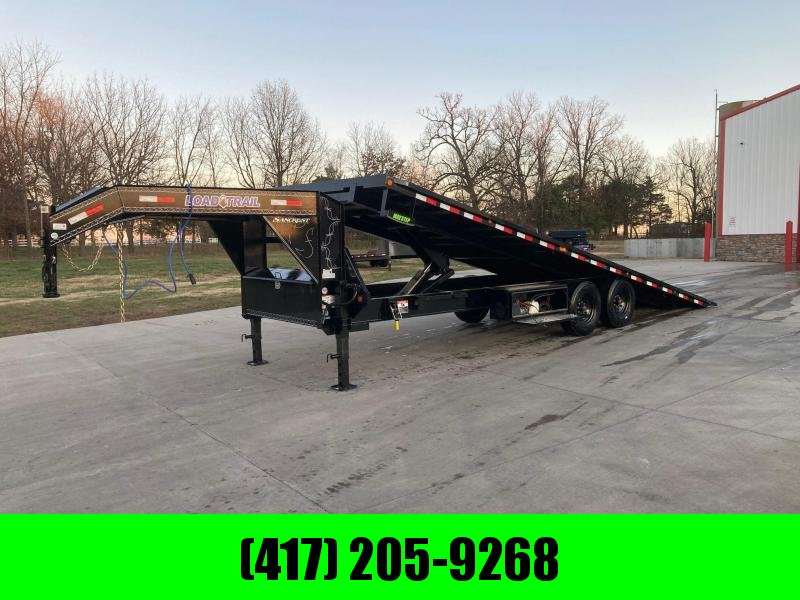 2021 Load Trail 102x26 Tandem 16K GN Power Tilt Flatbed Trailer