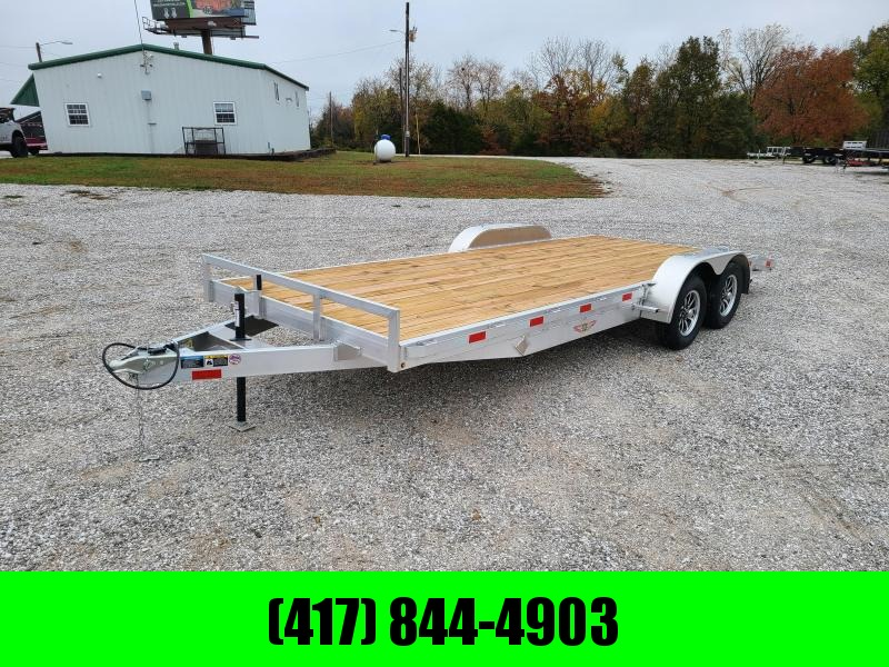2021 H and H Trailer 82X18 CAR HAULER W/3500# AXLES