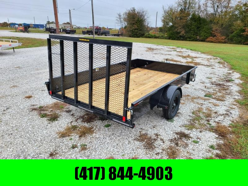"2021 H&H 82X12 SOLID SIDE SINGLE 3.5K UTILITY W/50"" SPRING ASSIST GATE"