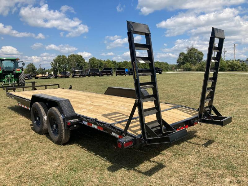 2022 Load Trail 83X22 TANDEM 14K CARHAULER W/ 2FT DOVE AND STAND UP RAMPS