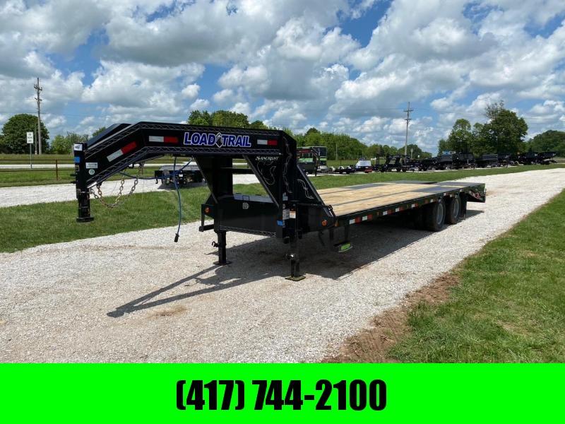 2021 Load Trail 102X28 LOW PRO GN TANDEM 10K ELE BRAKE, HDSS SUSPENSION & MAX RAMPS