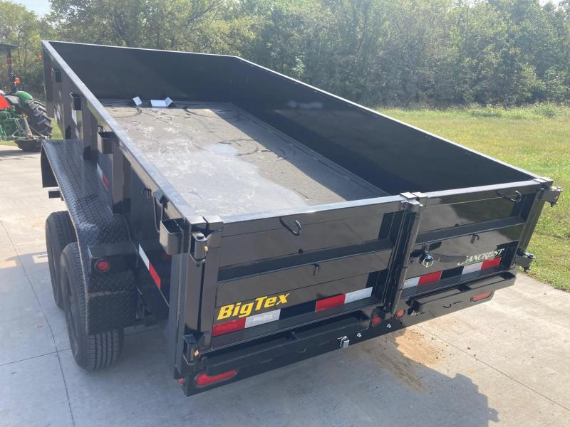 2022 Big Tex Trailers 72x12 Tandem 10K Dump Trailer