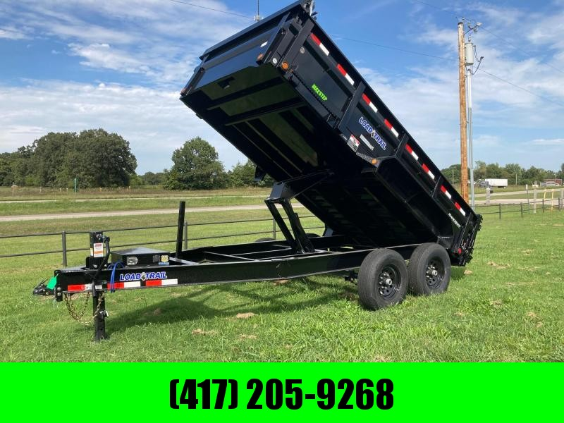 2021 Load Trail 83x14 14K Tandem Axle Dump Trailer