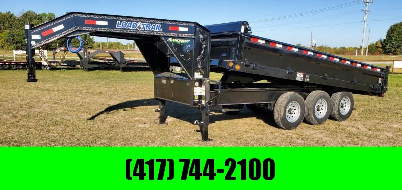 2021 Load Trail 96X16 TRIPLE 21K GN DECKOVER DUMP W 18 FOLD DOWN SIDES WIRELESS REMOTE