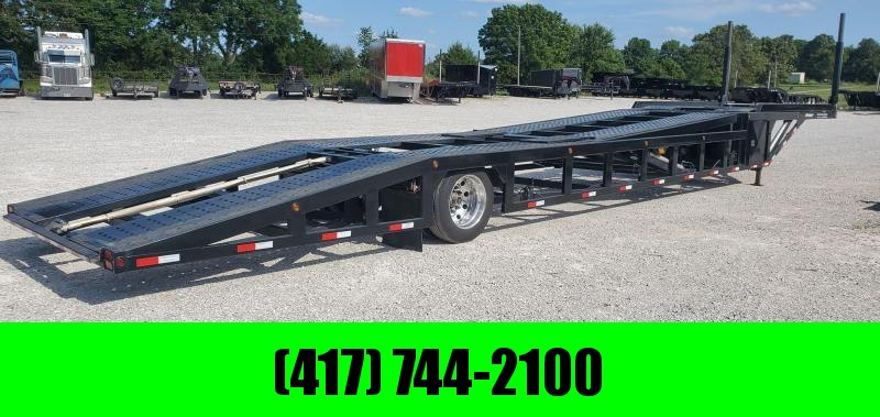 *LIKE NEW* 2018 Sun Country 5 CAR SINGLE AXLE NEX GEN CAR HAULER W/WINCH