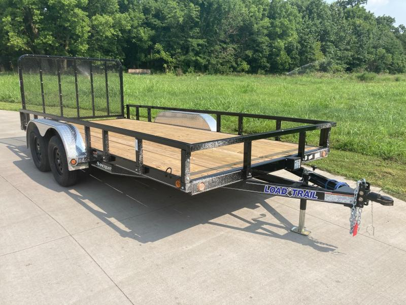 2021 Load Trail 83x16 Tandem Utility Trailer